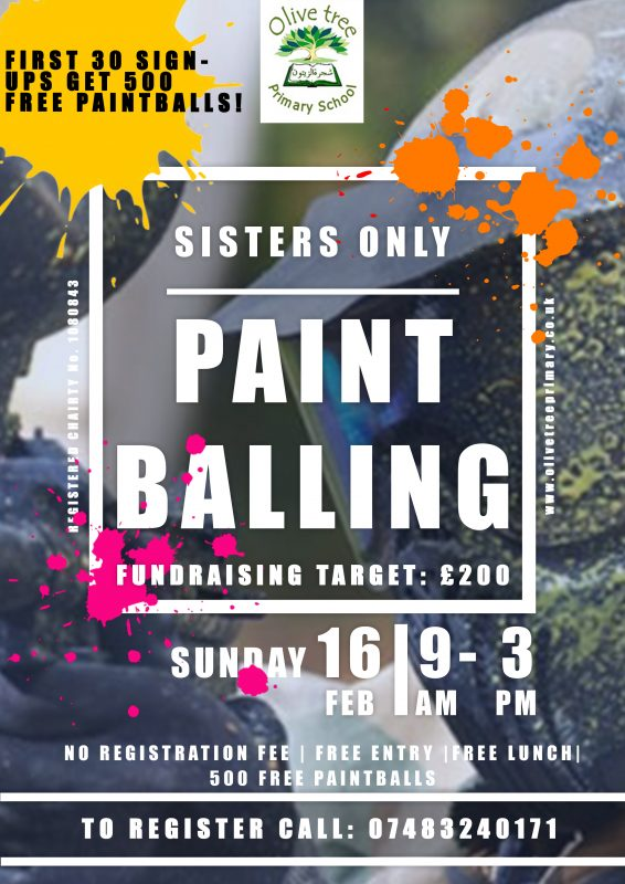 Paintballing Poster